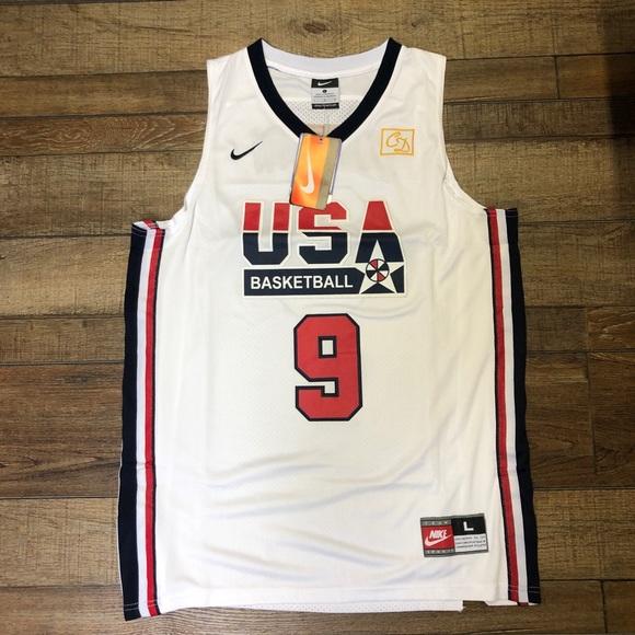 new arrivals f4d5f 0a2d8 NWT Michael Jordan Team USA Olympic Jersey NEw NWT